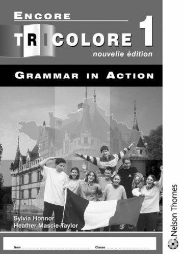 Encore Tricolore Nouvelle Edition 1 Grammar in Action