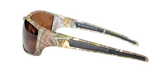 Hornz Forrest braun Camouflage polarisierten Sonnenbrillen für Männer um Sport Rahmen & freie passende Beutel aus Mikrofaser RkfAdS33B