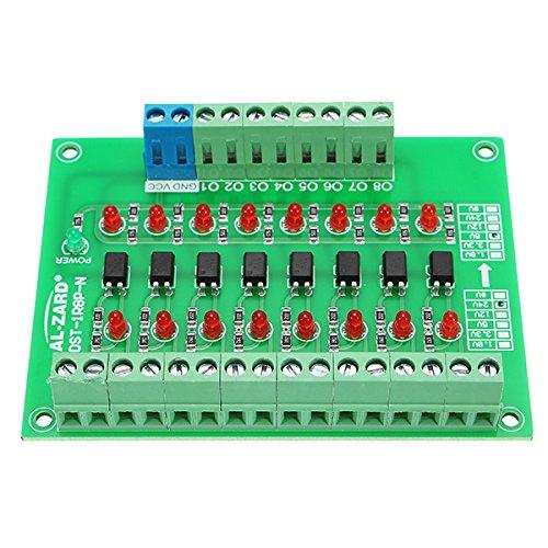 Ils 8 Kanal 24V bis 5V Optokoppler Isolationsmodul SPS Signalpegel Spannungswandler