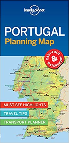 Lonely Planet Portugal Planning Map Lonely Planet - Portugal map lonely planet