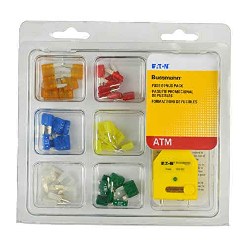Bussmann NO.43 ATM Mini Blade Fuse Tester/Puller Kit from Bussmann
