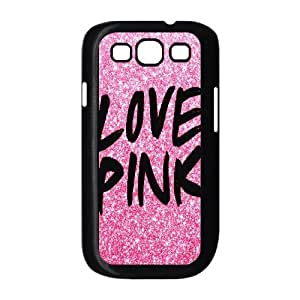 Love Pink Pattern Productive Back Phone Case For Samsung Galaxy S3 -Pattern-10