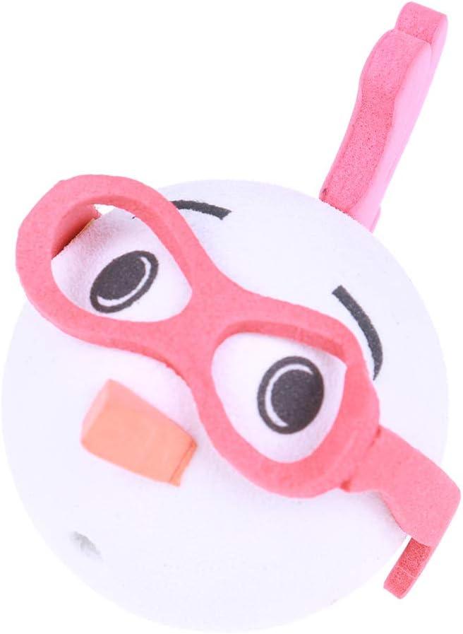 CHENLIGHT 3Pcs Cute Cat Antenna Ball Glasses Chickens Car Antenna Pen Topper Aerial Eva Ball Decor Toy Pink Blue