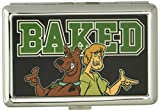Buckle-Down Business Card Holder - Scooby & Shaggy BAKED Black/Green - Large