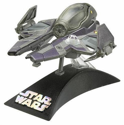 Mace Windu Starfighter - Hasbro Titanium Series Star Wars 3 Inch Vehicle Mace Windus Starfighter