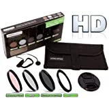 Precision Ultra Optics 6 Piece Pro Filter Kit 1000 Series - Ultra Slim High Resolution High Definition (Multi Coated Glass)