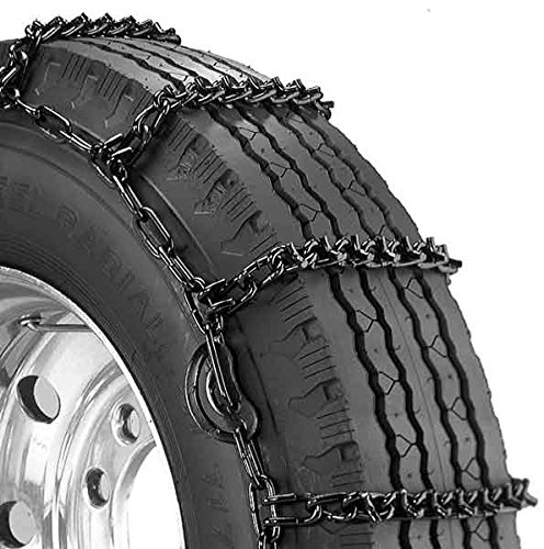 Security Chain Company QG2821CAM Quik Grip V-Bar Light Truck CAM LRS Tire Traction Chain - Set of 2