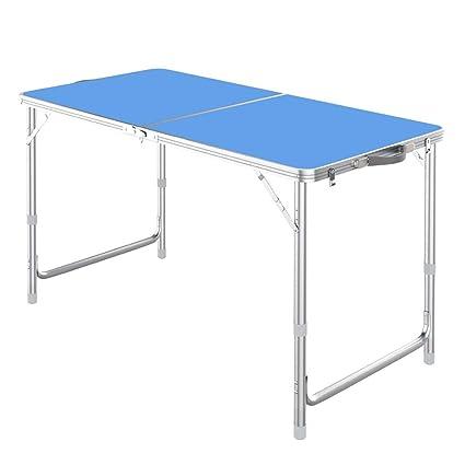 mesa plegable Mesa Exterior portátil Mesa Simple Mesa de ...