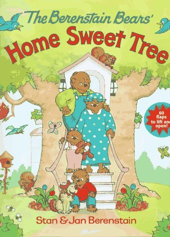 The Berenstain Bears' Home Sweet Tree (Great Big Flap Books) by Stan Berenstain (1997-08-12)