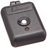 Linear MINI-T Delta 3 Miniature 1 Channel Key Ring Transmitter, Black/White
