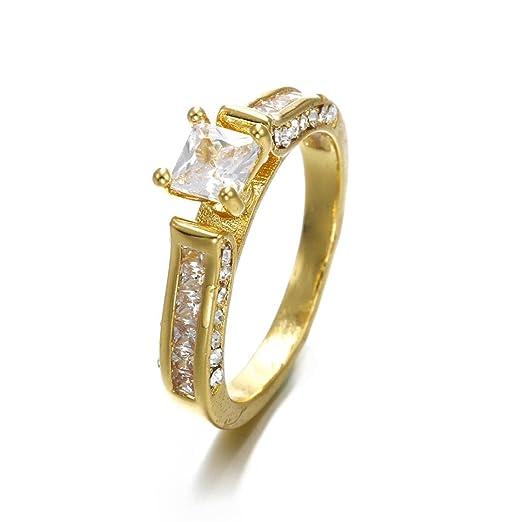 Amazon Com Fashion Ring Umfun Women 3 In 1vintage White Diamond
