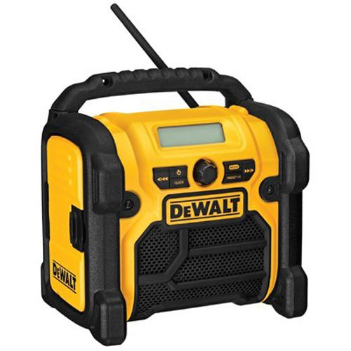 DEWALT DCR018 18V/12V/20V MAX Compact Worksite Radio (Radio And Charger Battery Dewalt)