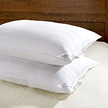 downluxe Set of 2 Hypoallergenic Down Alternative Bed Pillows - Hotel Collection Plush Pillow,Standard Size 20x26