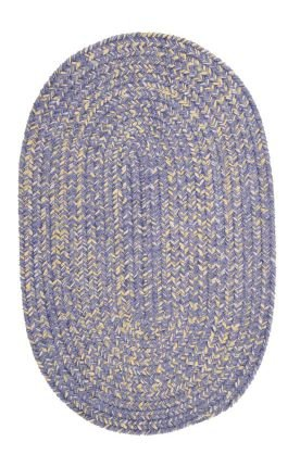 Colonial Mills West Bay Amethyst Tweed 10ft x (Bay Chenille Braided Rug)
