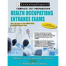 Health Occupations Entrance Exam 3e