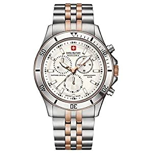 Swiss Military Hanowa SM06-5183-7-12-001 - Reloj de pulsera para Hombre, blanco/plata