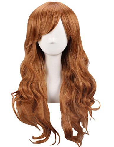 xiaopingshop Animation, Grotesque, Mabel, Pines, Long Hair, Cosplay Wig-Brown]()