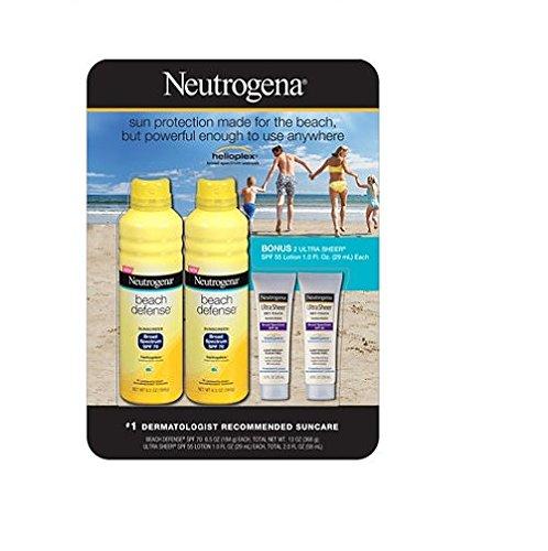 Neutrogena Beach Defense Sunscreen Value