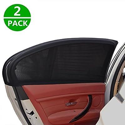 ELUTO 2 Packs Car Window Shade Side Window Sunshade Premium Quality Sun Shade For Baby Auto Sunshade For car Side Window Rear Window