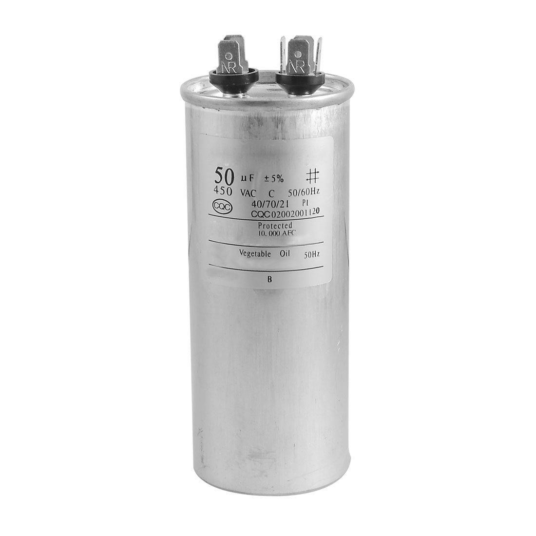 SODIAL(R) CBB65A-1 50uF AC 450V Motor Capacitor for Air Conditioner Engine