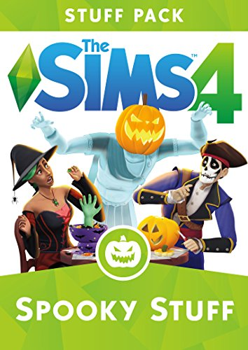 The Sims 4: Spooky Stuff Pack [Online Game Code] (Party Stuff Online)
