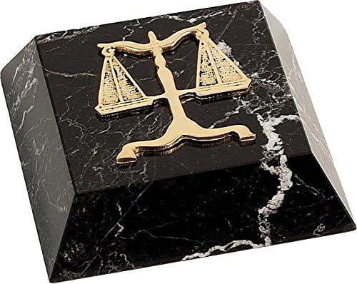 Legal Emblem Paper Weight