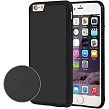 Iphone 7/ 6s Magic Anti-Gravity Selfie Nano Sticky Cases For Iphone 7/ 6s Cell Phone Goat (black)
