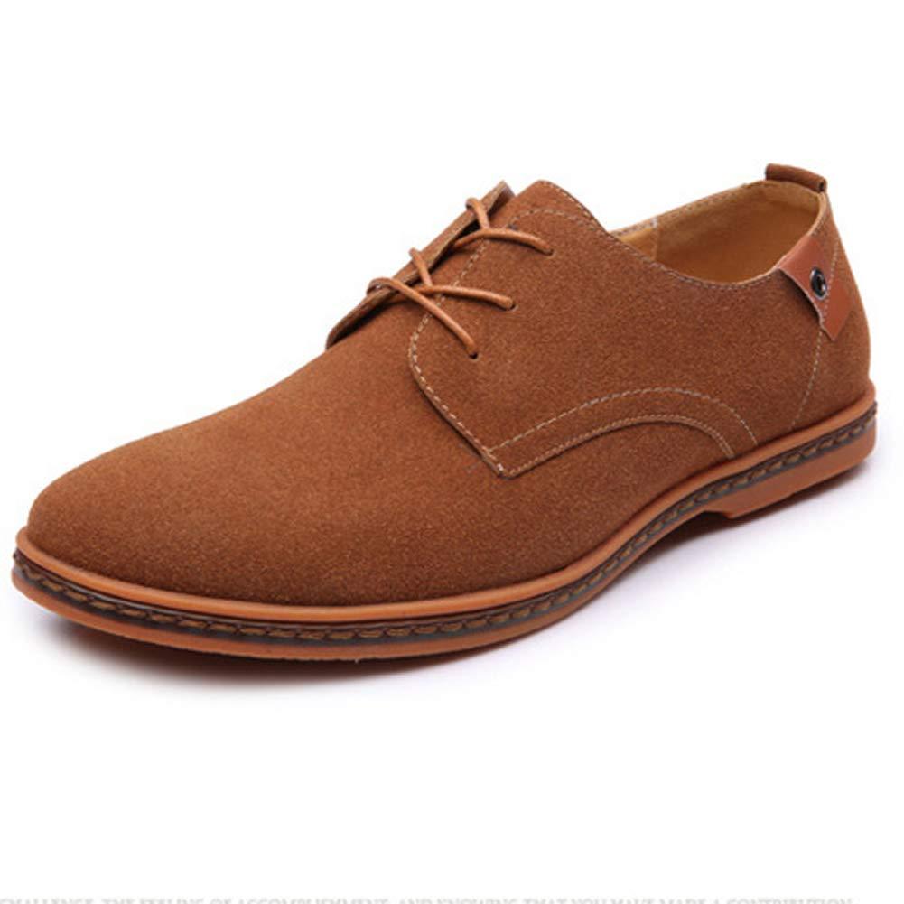 Herren Mode Freizeitschuhe Wildleder Oxford Leder Flache Schuhe Gr/ö/ße Kleid Schuhe