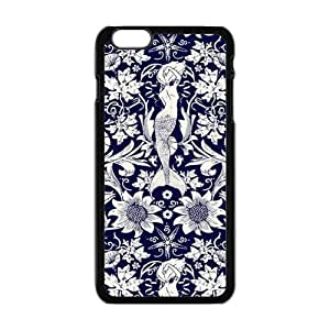 "Danny Store Hardshell Cell Phone Cover Case for New iPhone 6 Plus (5.5""), Vintage Mermaid by icecream design"