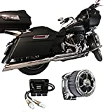 2017 Harley Touring Package D&D M8 Billet Cat ThunderMax 309-588 & CSR Intake