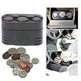 coin holder for car console - Auto Coin Holder Change Car RV Truck Dash Quarter Dime Nickel Dispenser Storage