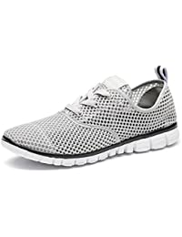 Men's Water Shoes Mesh Slip On Lightweight Casual Sneakers