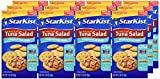 StarKist Ready-to-Eat Tuna Salad Lunch Kit, Original Deli Style, 3.28 Ounce (Pack of 12)