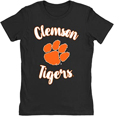 Official NCAA Clemson Tigers CL18CL58 Mens//Womens Boyfriend Long Sleeve Tee