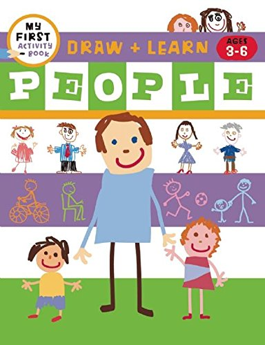 Download Draw + Learn: People (My First Activity Book: Draw + Learn) pdf