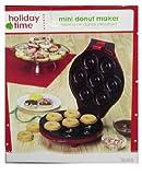 Holiday Time Mini Donut Maker