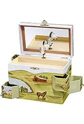 Enchantments Hideaway Horse Music Box