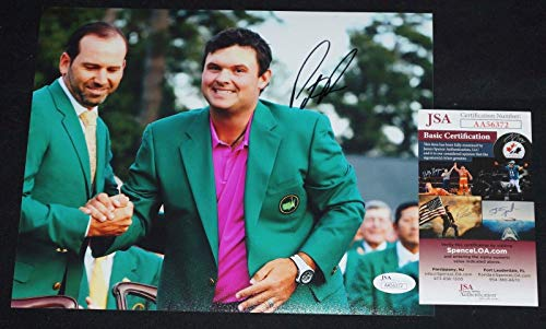 Patrick Reed Signed Photo - 8x10 + COA AA56372 2018 Masters Champ - JSA Certified - Autographed Golf Photos (Golf Photo 8x10 Autograph Certified)