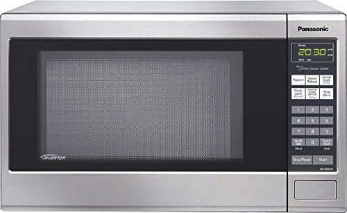 Panasonic 1.2 Cu. Ft. Mid-Size Microwave Stainless Steel NN-SN661S