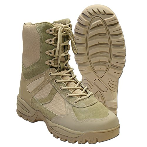 Patrol Größe 8 Tec Zip mil Outdoor beige Bottes qS7xAwRpPn