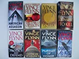 Mitch Rapp Series (Set of 8 Books) The Third Option; Executive Power; American Assassin; Consent to Kill; Protect and Defend; Extreme Measures; Pursuit of Honor; Order to Kill