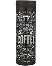 Contigo THERMALOCK TwistSeal Eclipse Stainless Steel Travel Mug, 20oz, Biscay Bay