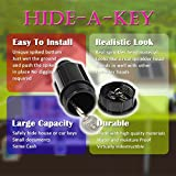 Hide A Key Cash Hider Sprinkler Head, Key Holder Outdoor / Garden / Yard hiding Vault Case. Waterproof, Corrosion and Impact resistant