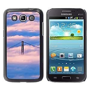 "For Samsung Galaxy Win I8550 , S-type Naturaleza Puente de San Francisco Nube"" - Arte & diseño plástico duro Fundas Cover Cubre Hard Case Cover"