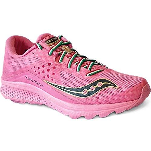 Saucony - Zapatillas de running de goma para mujer rosa rosa Rosa
