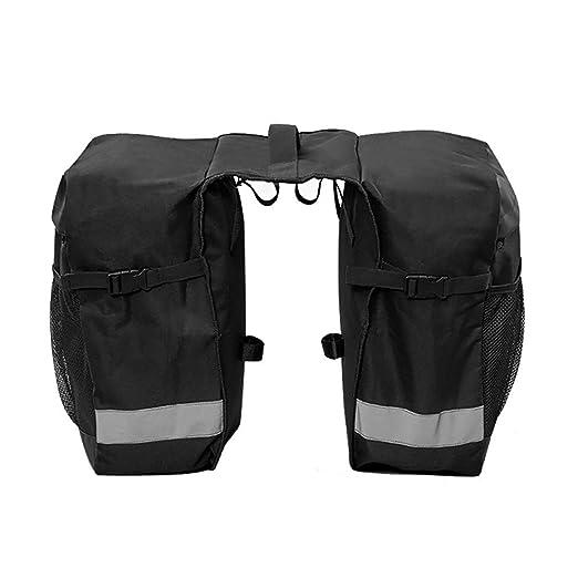 Bolsa de asiento de bicicleta Alforjas traseras de bicicleta ...