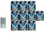 Wilkinson Sword Xtreme3, 4 Count Refill Razor Blades (Pack of 10) with FREE Loving Color trial size conditioner