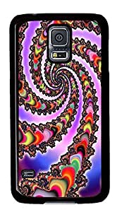 Samsung Galaxy S5 brand new covers Abstract Rotation Id01 PC Black Custom Samsung Galaxy S5 Case Cover