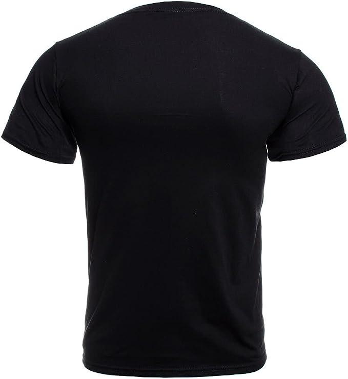 G/én/érique LED Zeppelin T-Shirt Hermit Homme Noir