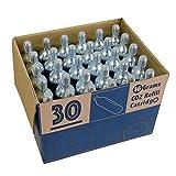 CyclingDeal 30 x 16g Threaded CO2 Cartridges